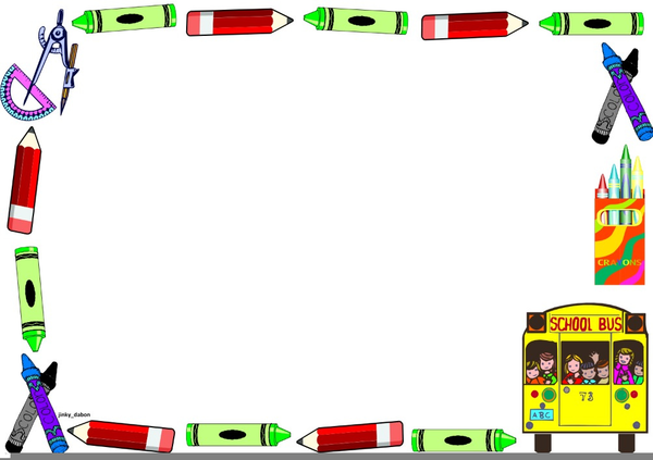 Elementary School Clipart Borders.