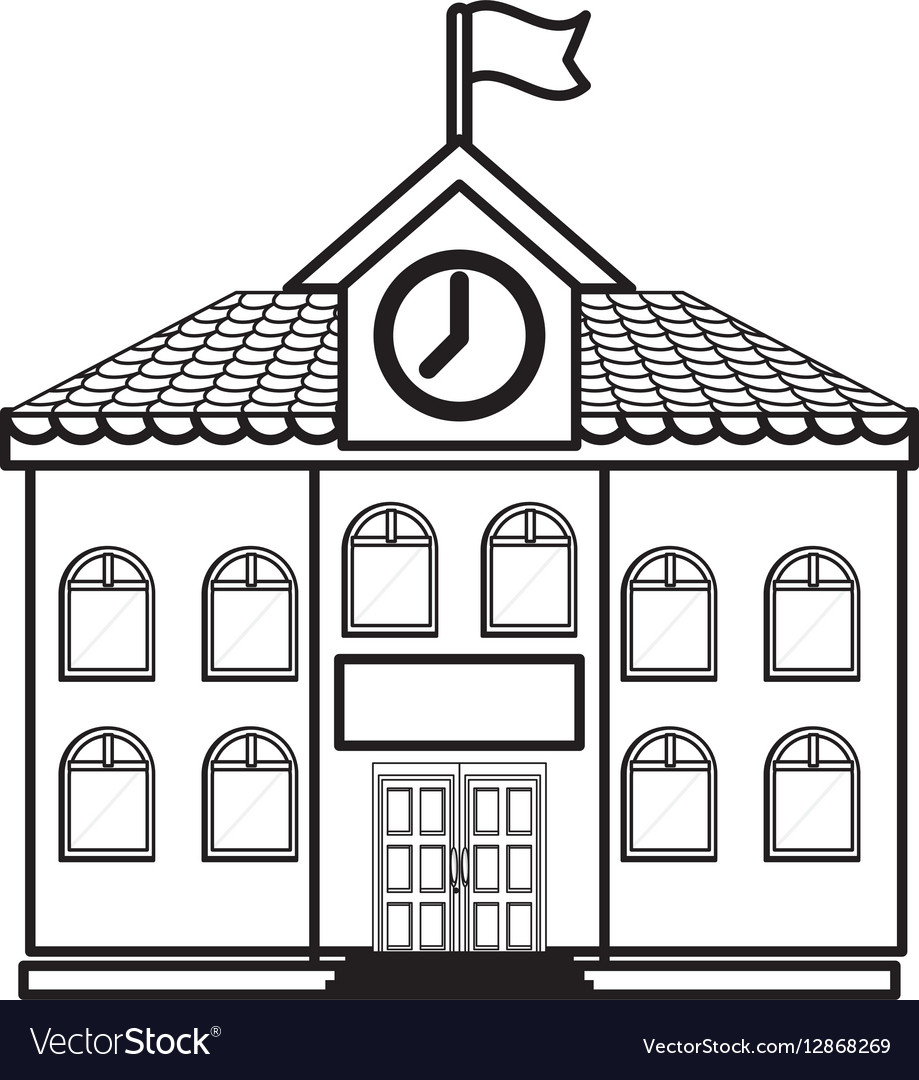 University building symbol.