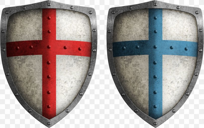 Crusades Middle Ages Shield Stock Photography Illustration.