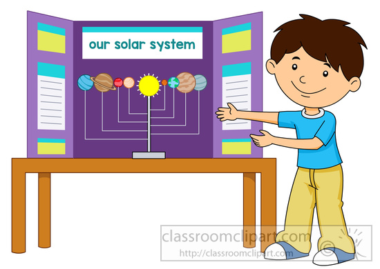 Science Fair Project Clipart.