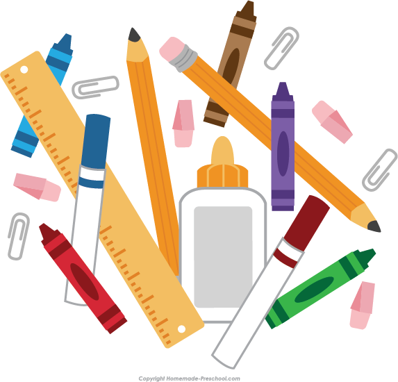 School supplies Clip art.