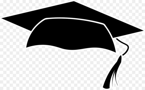 Square academic cap Graduation ceremony Academic dress Diploma Clip.