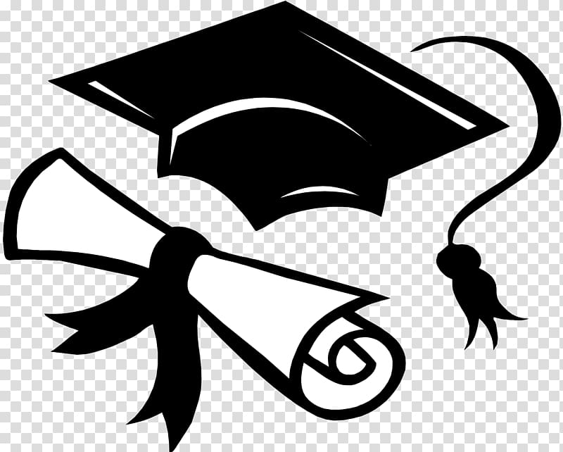 Mortar board and diploma art, Graduation ceremony Graduate.
