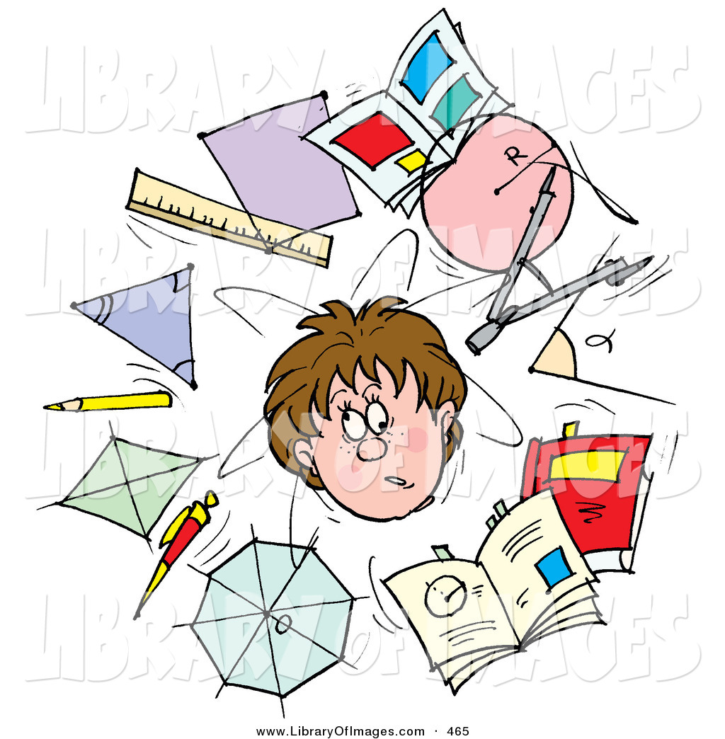 Stress clipart school stress, Stress school stress.