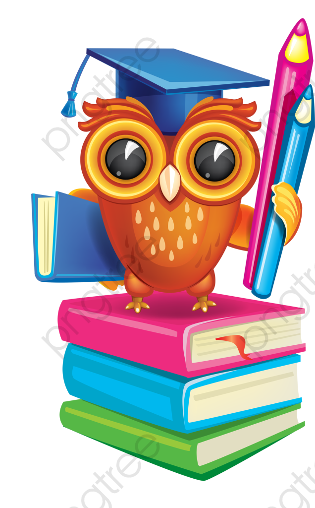 Academic Success Owl, Owl Clipart, Owl, Book PNG Transparent Image.