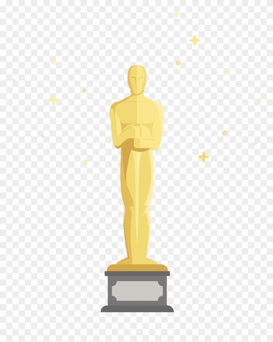 Oscar Clipart Figurine.