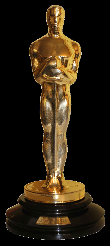 Oscar Academy Award transparent PNG.