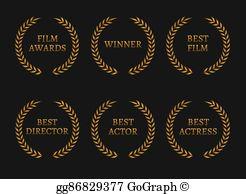 Academy Awards Clip Art.