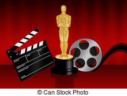 Oscars Clip Art and Stock Illustrations. 1,100 Oscars EPS.