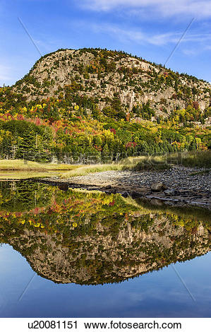 Stock Photography of USA, Maine, Acadia National Park. Beehive.