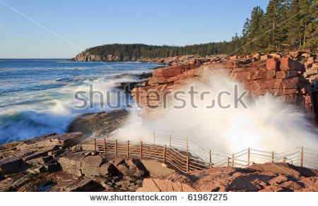 Acadia National Park, Thunder Hole Stock Photo 61967275 : Shutterstock.