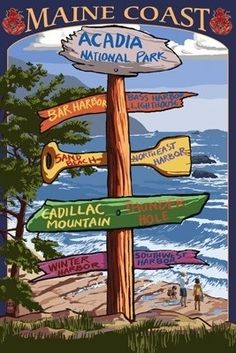 Acadia national park, National parks and Parks on Pinterest.