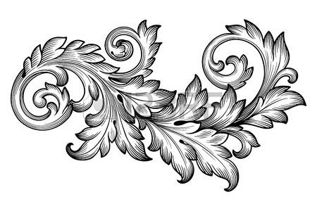 3,485 Acanthus Leaves Stock Vector Illustration And Royalty Free.
