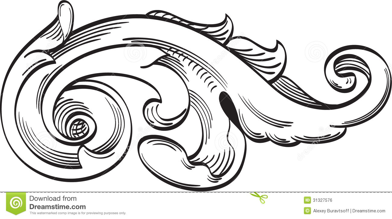 Acanthus Stock Illustrations.