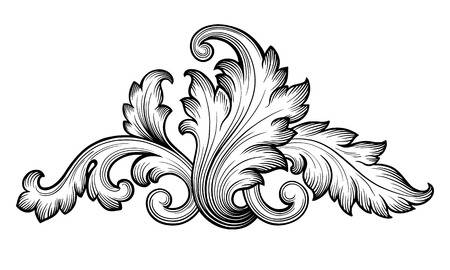 4,336 Acanthus Leaf Stock Illustrations, Cliparts And Royalty Free.