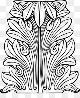 Free download Acanthus mollis Clip art.