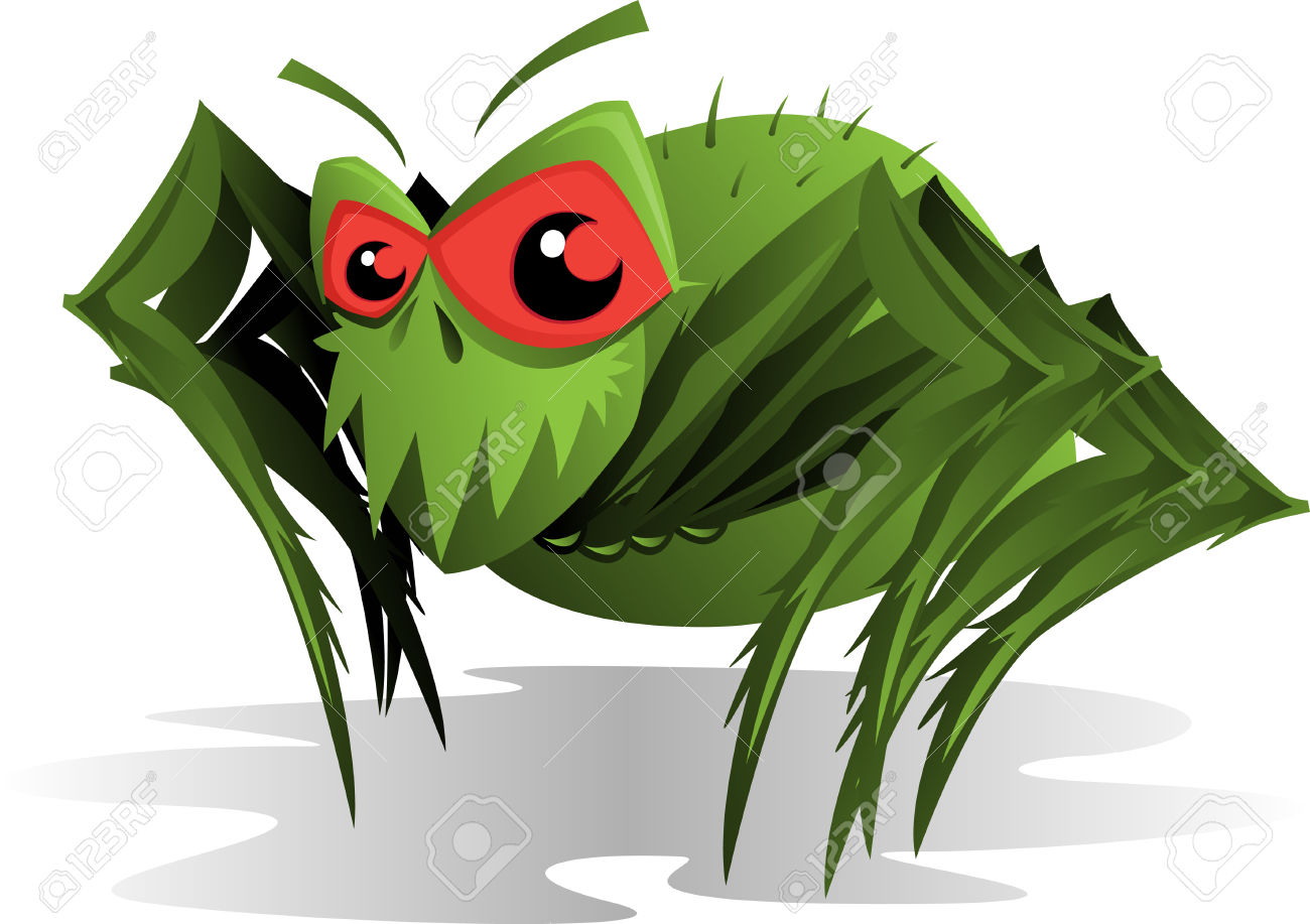 Horrible Spider Mite Royalty Free Cliparts, Vectors, And Stock.