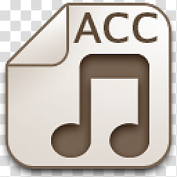 Albook extended sepia , ACC music player icon transparent.