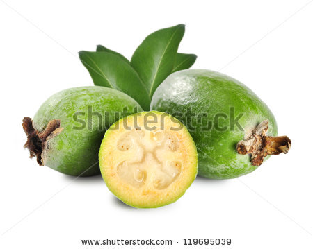 Feijoa Stock Photos, Royalty.