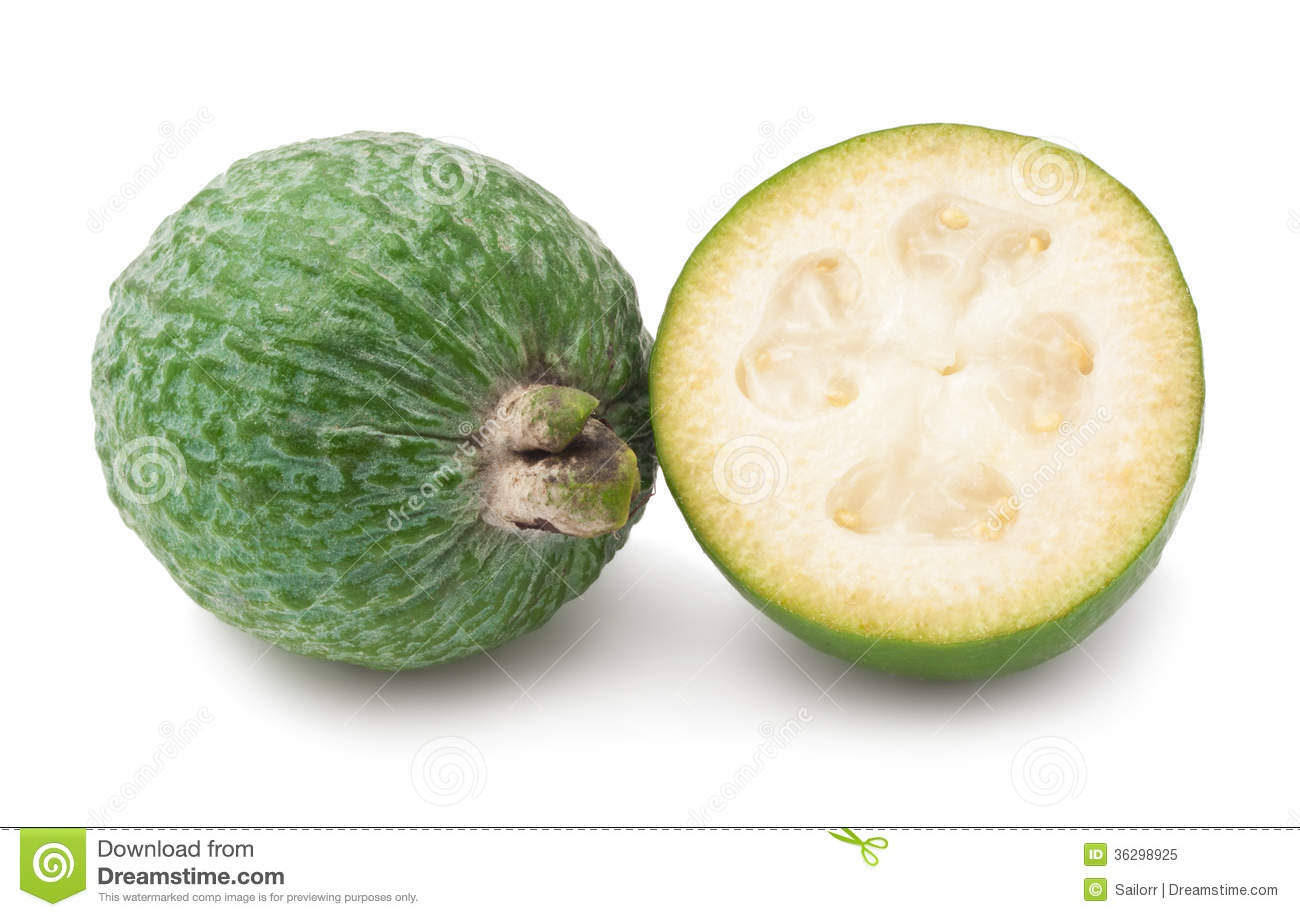 Feijoa Fruit Royalty Free Stock Photo.