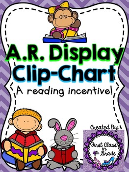 Accelerated Reader (AR) Point Display Clip.