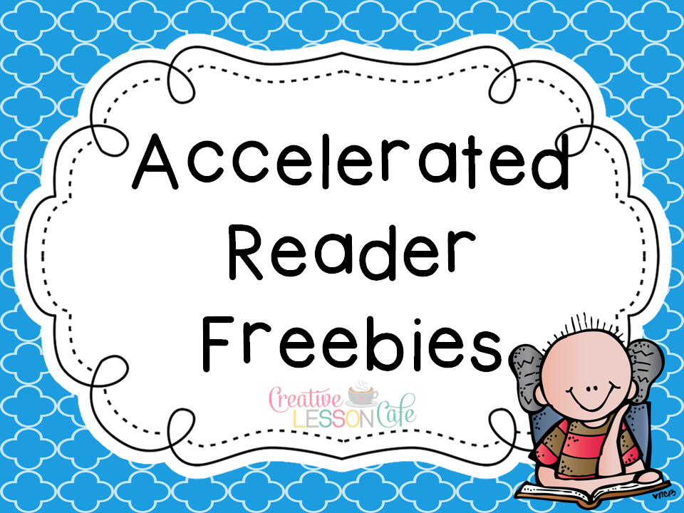 Accelerated reader clipart.
