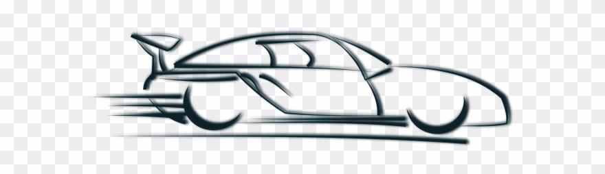 Car Accelerating Png Clipart (#3637636).