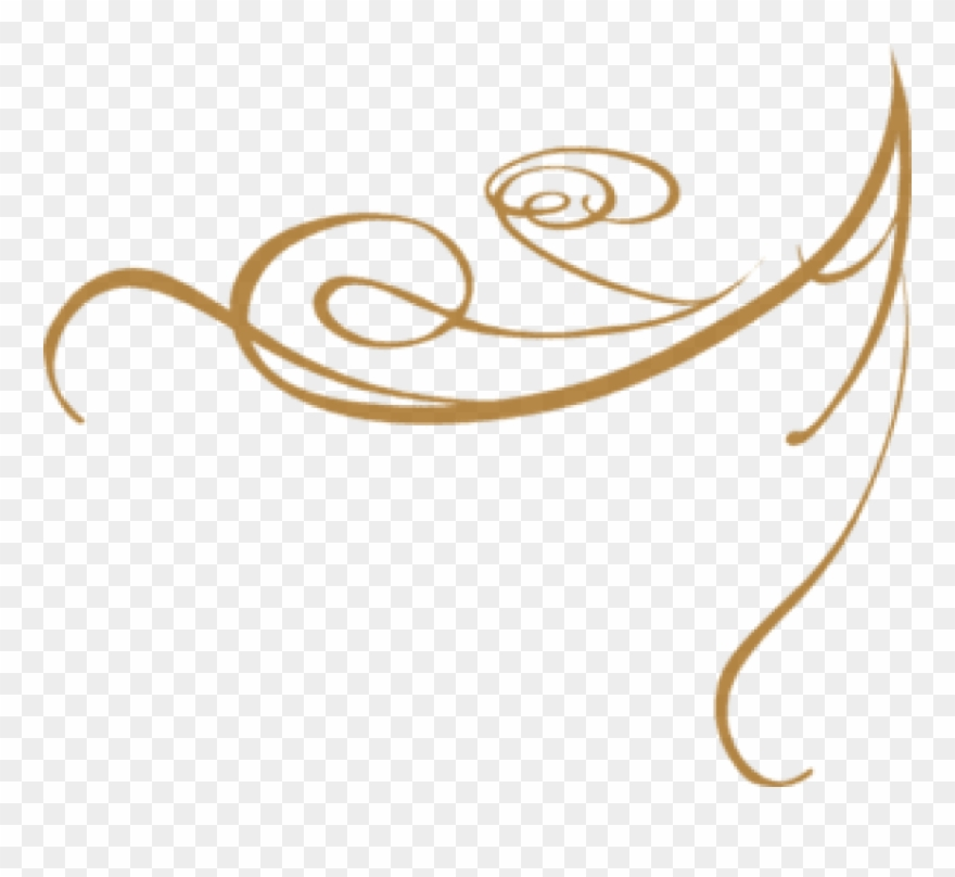 Free Png Gold Fancy Line Designs Png Image With Transparent.