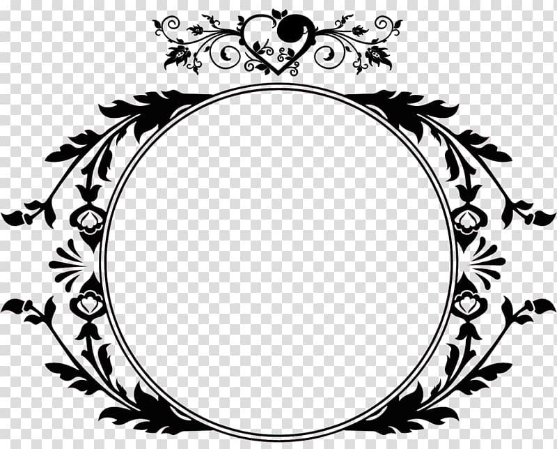 Round flower accent wreath , Monogram Initial Letter Logo.