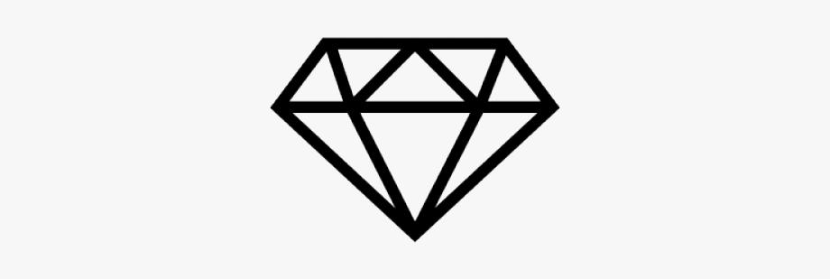 Diamonds Clipart Diamond Outline.