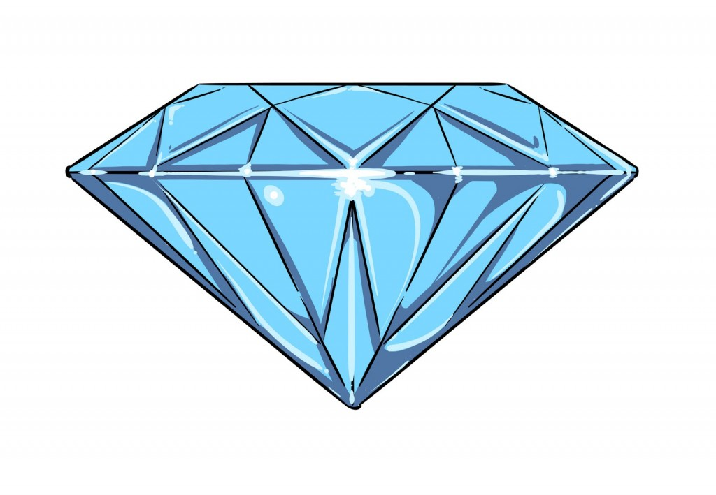 5316 Diamond free clipart.