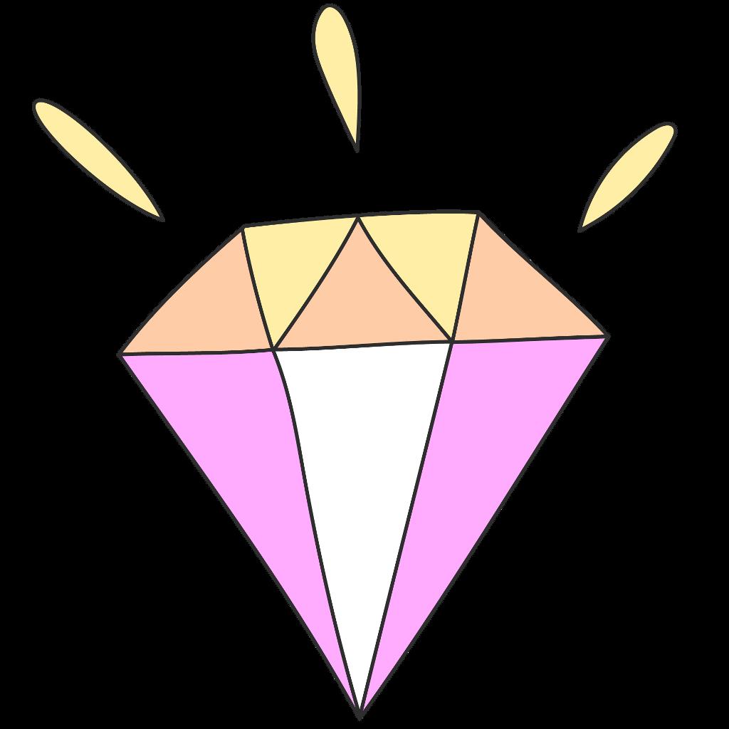 Jewel clipart colorful diamond, Jewel colorful diamond.