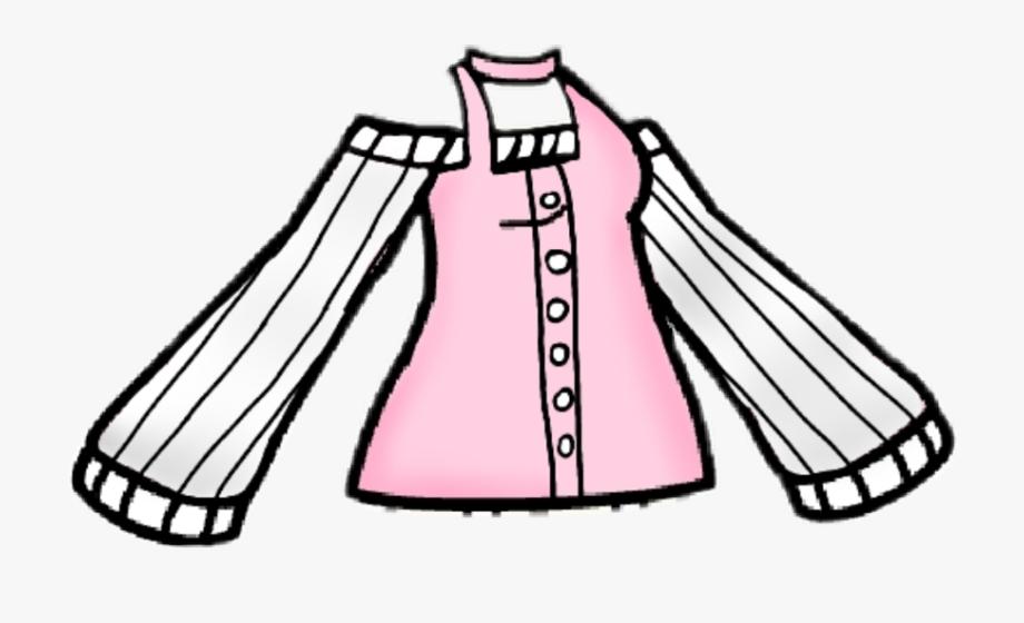 Dress Gachalife Freetoedit , Transparent Cartoon, Free.