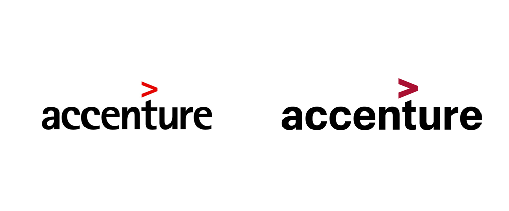 Brand New: New Logo and Identity for Accenture.