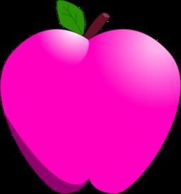 Cartoon Apple Clipart.