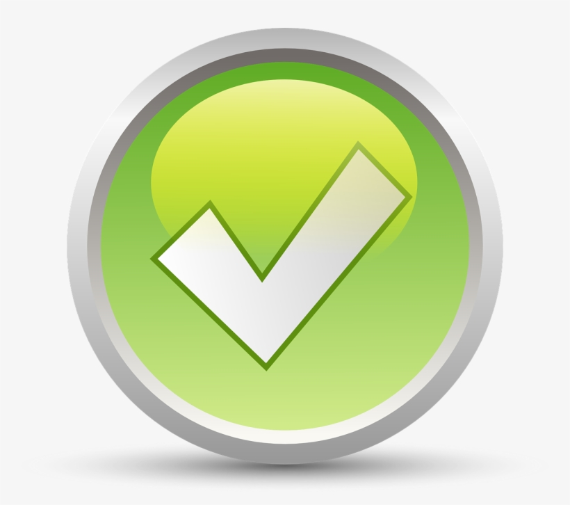 Accept Yes Checkmark Symbol Sign Positive.