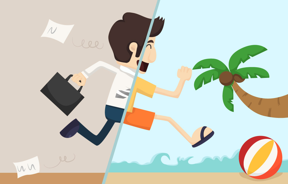 The Five Big Mistakes Workers Make When They Take Vacation.