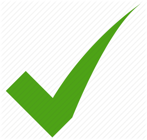 Green Check Icon Png #340972.