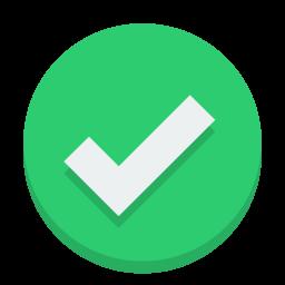 accept icon.