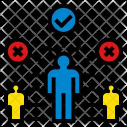 Acceptance Icon.