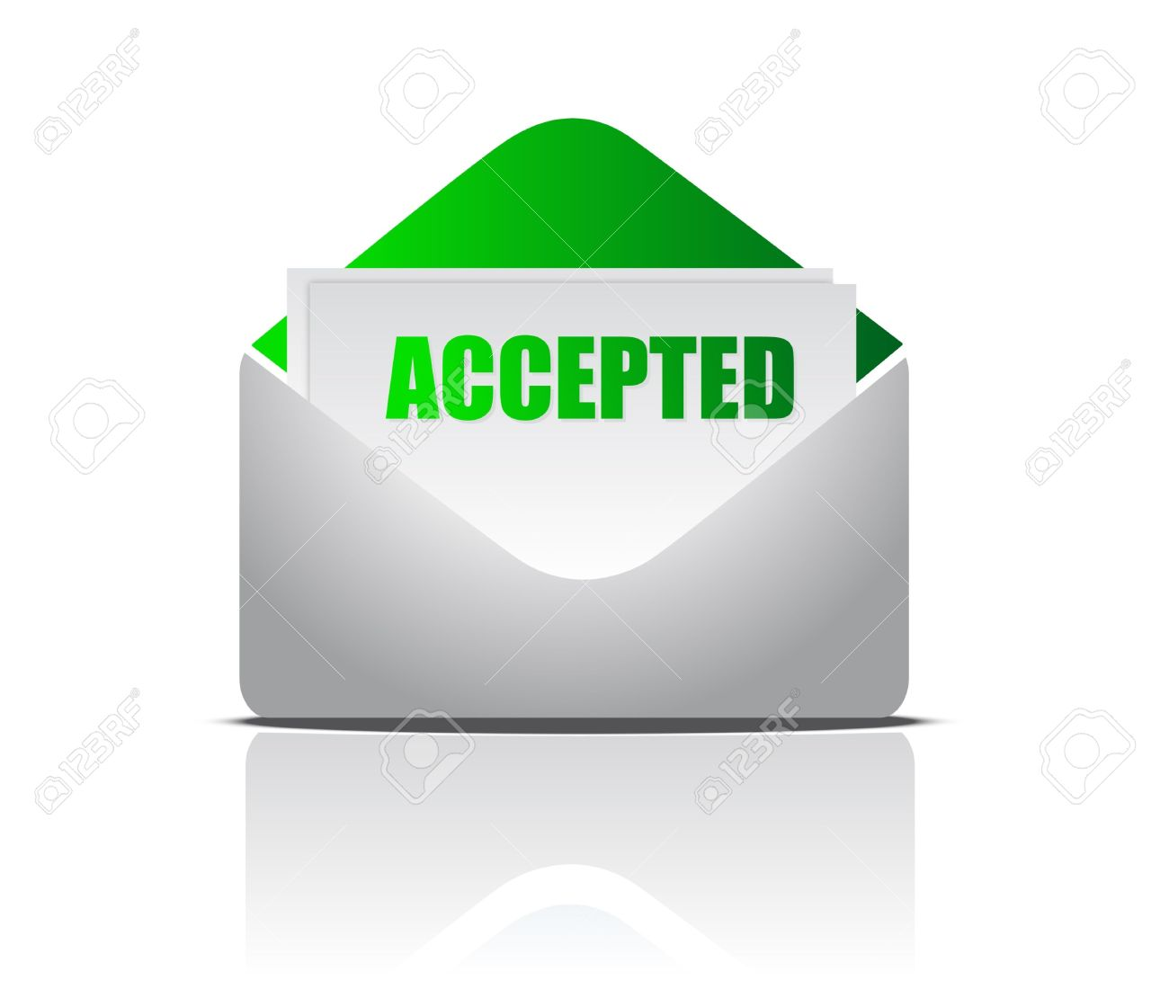 Accepted clipart.