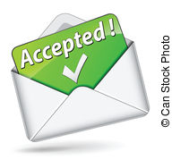 Accepted clipart #13
