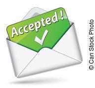 Acceptance Clipart.