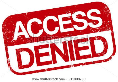 Access Denied Stock Photos, Royalty.