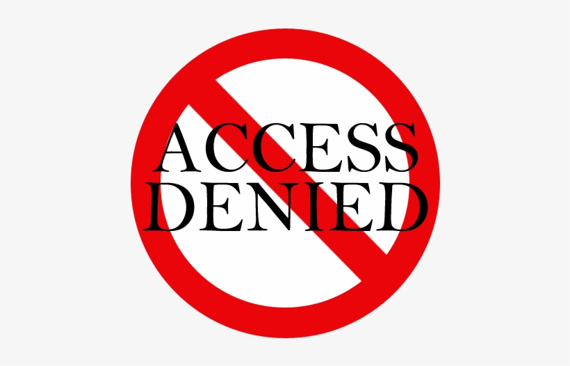 Access Denied Png.