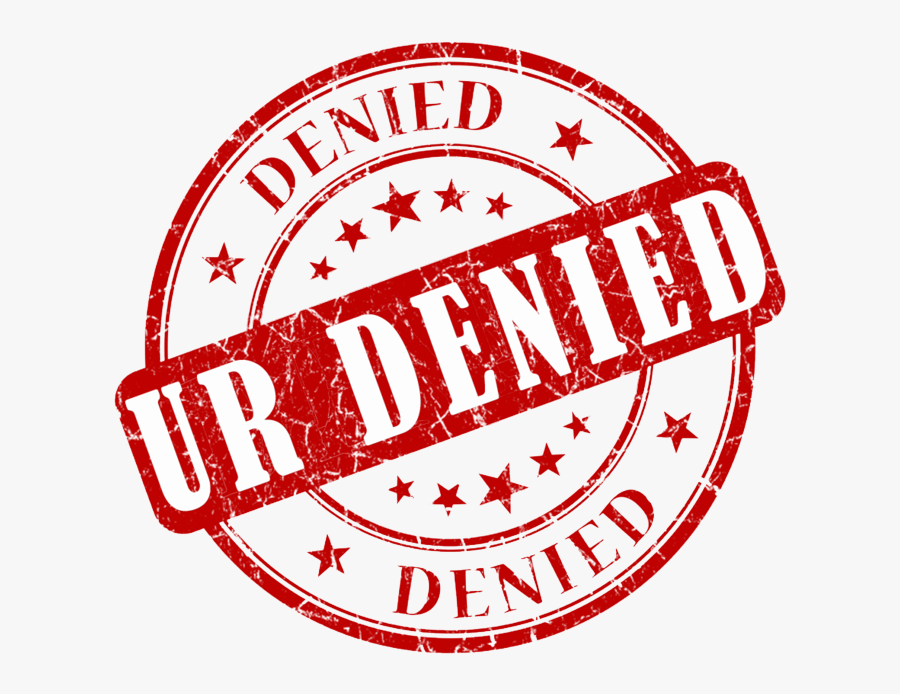 Denied Stamp Png Transparent Images.