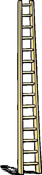 Tall Ladder clip art Free Vector / 4Vector.