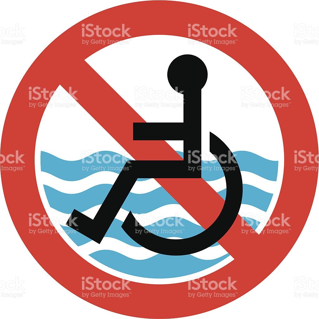No Access Beach stock vector art 104789653.