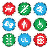 Accessibility Clip Art.