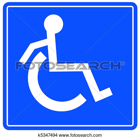 Transport Wheelchair Accessible Clipart.